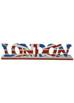 Painted Wood Alphabet London