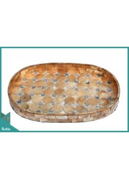 New Model Seashell Serving Tray Decorative Production