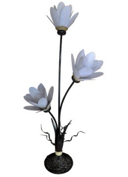 Hand Crafted Flower Lamp