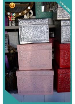 Wholesale Aluminium Handmade Balinese Boxes
