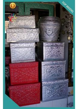 Top Model Aluminium Handmade Balinese Boxes