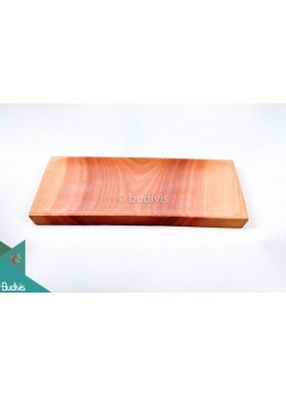 Wooden Plate Square Small