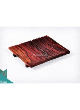 Wooden Dock For Bowl Decorative