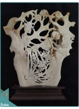 Erotic Bone Carving Ornament