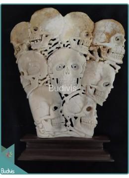 Nine Skull Bones Ornament