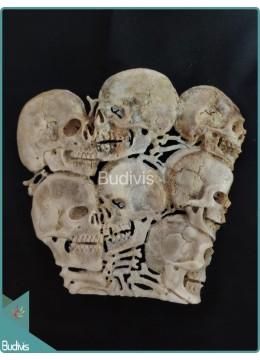 Seven Skull Bones Ornament