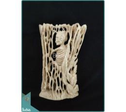 A Skeleton Bone Carving Ornament