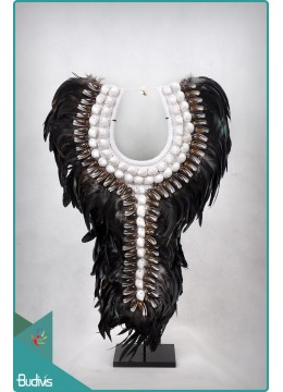 Wholesale Tribal Necklace Shell Decorative On Stand Interior