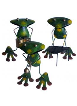 Frog Decor Iron Arts