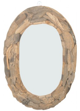 Mirror Recycled Driftwood