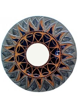 Antique Mirror Glass Cracking