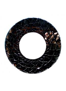 Antique Mirror Full Glass Circle