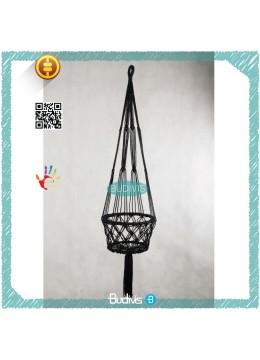 Black New 2017 Plant Hanger Hanging Macrame Handmade