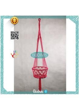 For Sale MacramePlant Hanger Indoor Outdoor HangingPlanterBasket Jute Rope