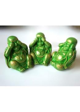 Production Resin Yogi Statue Set 3