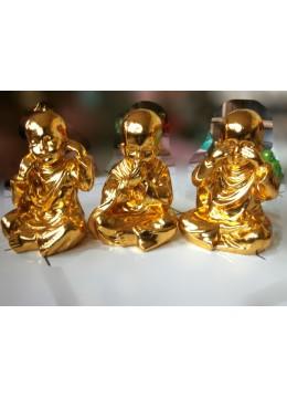 Top Model Bali Resin Monk Statue Set 5