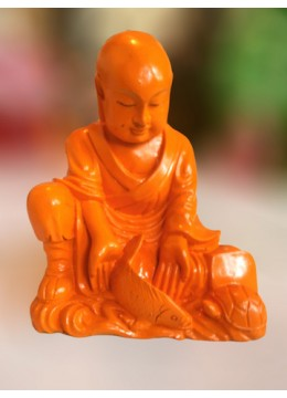 Bali Manufactured Resin Monk Statue