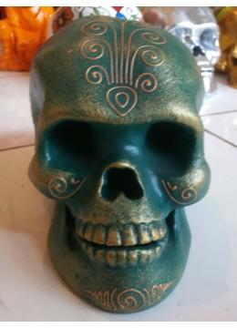 Bali Skull Sculpture Statue
