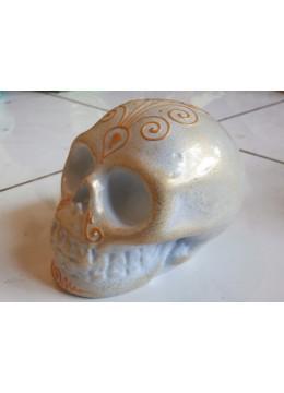 Bali Manufactured Skull Sculpture Statue