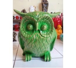 Bali Manufactured Resin Owl Figurines