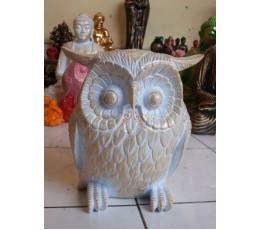 100% Handmade Resin Owl Figurines