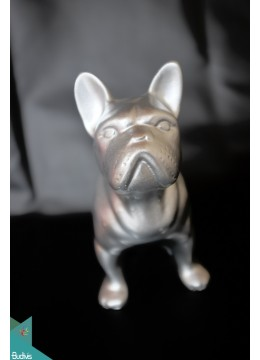 Artificial Resin France Dog Decor - Marta