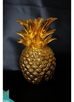 Pineapple Home Décor Medium Gold - Marta