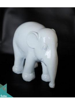 Artificial Resin Elephant Hand Painted Home Decor - Marta