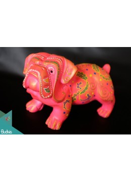 Artificial Bali Resin BullDog Home Decor - Marta