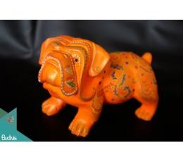 Artificial Bali Resin BullDog Home Decor - Marta