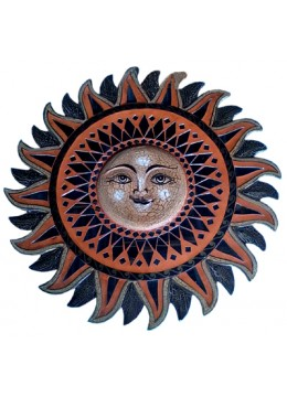 Wall Hanging Glass Sun Star