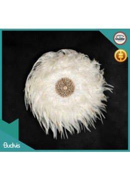 Best Selling Bali Wholesale White Juju Hat Crocheted