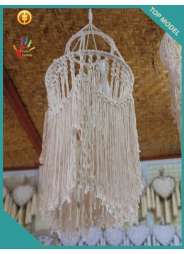 Wholesale Bohemian Lamp Hanging Macrame Ceiling