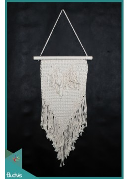 For Sale Bali Wall Woven Hanging Macrame Handmade