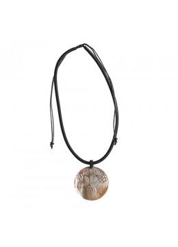 Bali Seashell Resin Pendant Sliding Necklace Manufacturer