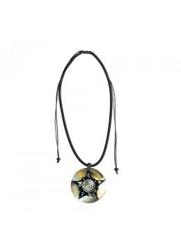 Bali Seashell Resin Pendant Sliding Necklace Cheap