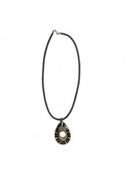 From Bali Resin Pendant Seashell Sliding Necklace From Bali