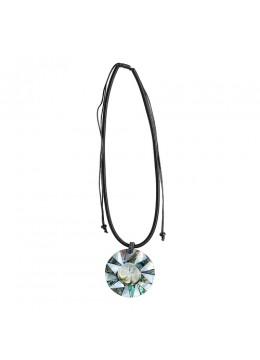 Shell Resin Penden Sliding Necklace Chain Direct Artisan