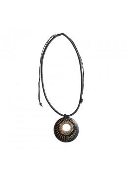 Bali Resin Penden Shell Sliding Necklace Wholesale