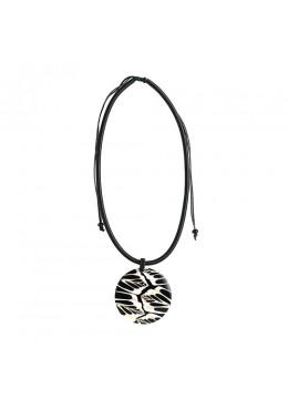 Bali Resin Penden Shell Sliding Necklace Affordable
