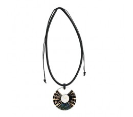 Bali Resin Penden Shell Sliding Necklace Cheap