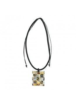 Bali Resin Penden Shell Sliding Necklace Top Selling