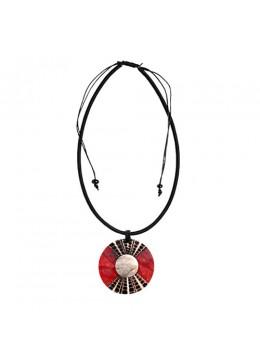 Bali Shell Resin Penden Sliding Necklace  Wholesaler