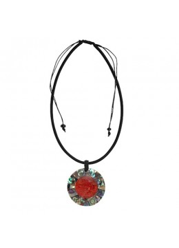 Bali Resin Pendant Shell With Cord Sliding Necklace Latest