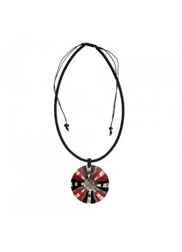 Bali Resin Pendant Shell With Cord Sliding Necklace  Wholesaler