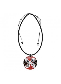 Seashell Resin Pendant Sliding Necklace Wholesale