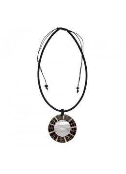 Resin Pendant Seashell Sliding Necklace Top Model