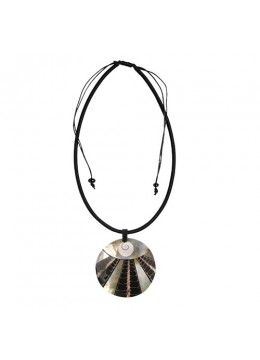 Resin Pendant Seashell Sliding Necklace From Bali