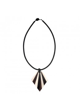 Bali Seashell Resin Pendant Sliding Necklace Affordable