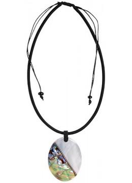 Bali Resin Penden Shell Sliding Necklace Best Selling